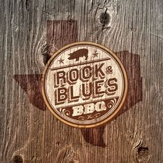 Rock & Blues BBQ by Adam Halverson, via Behance