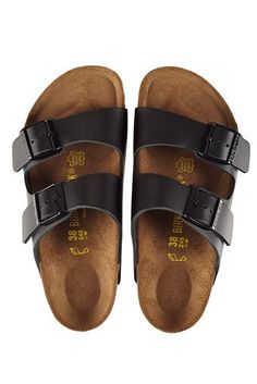 birkenstock arizona sandals black | bassike