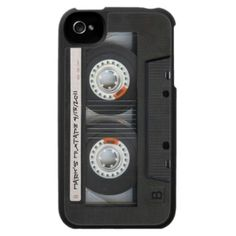 Personalized Vintage Mixtape iPhone 4 iPhone 4 Cases