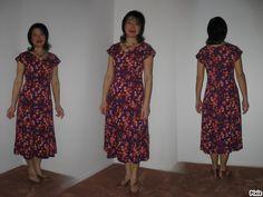Sunny Flowers Dress de Jemajyng Modèle: Simplicity 7078