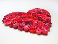 in my latest treasury: http://www.etsy.com/treasury/MTIxNDEzNTd8MTczNTc1MTU1Nw/write-me-a-letter-well-play-together?index=0  Quilled I Love You card  original OOAK red heart by szalonaisa, $8.00