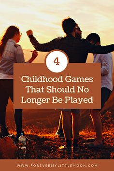 4 Childhood Games That Should No Longer Be Played Childhood Games, Parenting Hacks, Gentle Parenting, Back To School Activities, Activities For Kids, At Home Date Nights, Back To School Shopping, Mom Advice, Breastfeeding Tips