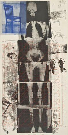 """""""Robert Rauschenberg (American, Booster from Booster and 7 Studies, Lithograph and screenprint, image: x cm; Edition of """" Art. Robert Rauschenberg, Arte Punk, Grafik Art, Moma, Pics Art, Grafik Design, Art Plastique, Aesthetic Art, Belle Photo"""