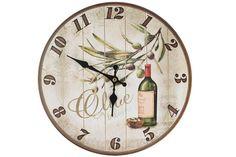 Ceas de lemn de perete Olive