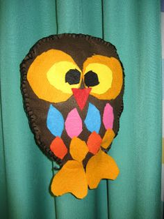 Owl Crafts, Preschool Crafts, Diy Crafts For School, Animal Habitats, Owl Bird, Textile Fabrics, Teaching Art, Summer Fun, Arts And Crafts
