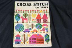Ondori Cross Stitch Patterns Book Misako Murayama 1976