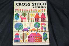 Ondori Cross Stitch Patterns Book Misako Murayama 1976