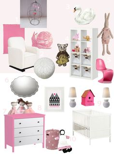 Sissy and Marley Victorias Nursery Get the Look for Lots Less