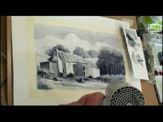 How to paint a landscape in watercolour - Painting Lesson 2