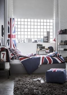 1000 images about chambre angleterre on pinterest deco for Decoration theme angleterre