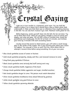 Crystal Gazing