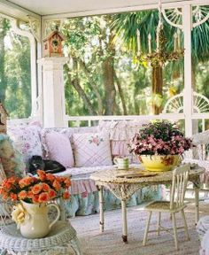 Love old porches like this one