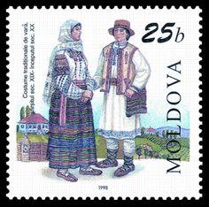 World Stamp Catalogue/Moldova/1998 - Summer traditional costume (XIX/XXth c.).