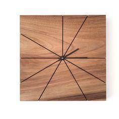 Wood Wall Clock  Unique Wall Clock  Wood by TreebirdWoodDesigns