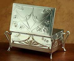 Germany. WMF Art Nouveau box.