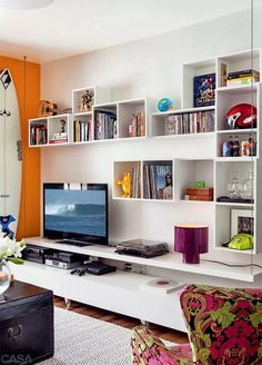 Idea for a small living room.