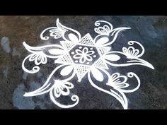 Simple Rangoli Border Designs, Rangoli Borders, Rangoli Designs Flower, Rangoli Patterns, Rangoli Designs With Dots, Rangoli Designs Images, Kolam Rangoli, Rangoli With Dots, Easy Rangoli