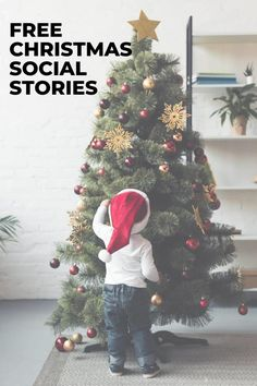 Looking for a Christmas social story to explain Christmas break, visiting Santa, or opening presents? Well, you'll find tons of awesome and free social stories about Christmas and the holidays here. #socialstories #socialstory #christmas #socialskills Christmas Concert, Christmas Tree, Visit Santa, Autism Resources, Social Stories, Children With Autism, Stories For Kids, Social Skills, Presents