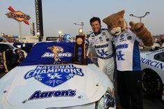 Nascar - Kentucky Speedway - 2012. Kentucky born Michael Waltrip.