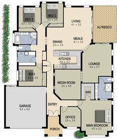 a0b338cba4328ff7c1b04cf7a73ad971   bedroom house bedroom office - View Modern 3 Bedroom House Plans Australia Gif