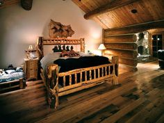 western home decor bedroom