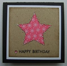 love this patchwork heart card