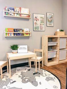 Montessori Playroom, Toddler Playroom, Toddler Rooms, Baby Boy Rooms, Ikea Kids Playroom, Playroom Design, Kids Room Design, Playroom Decor, Baby Room Decor