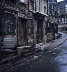 Abandoned in Istanbul, Turkey.