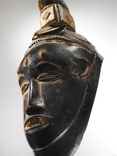 Guro Female Mask, Gu, Ivory Coast | lot | Sotheby's