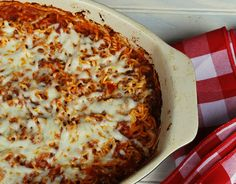 Ramen Noodle Bake. Yes Ramen...so good! Tastes like a cross between lasagna and amercian chop suey.