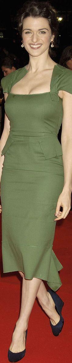 Rachel Weisz in Roland Mouret Galaxy in 2005