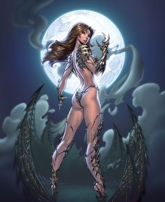 Witchblade by J. Scott Campbell