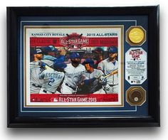 "Royals Authentics ""25 Days of Christmas Gift Ideas"" Day 7. For our 7th day of '25 Days of Xmas Gift Ideas"" suggestions we've chosen a frame honoring our 7 All-Stars."
