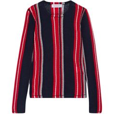 Opening Ceremony Striped ribbed cotton sweater | STRIPES | Pinterest