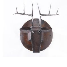 metal deer head.  Gatski metals