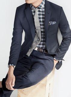 Slim suit #fashion // #men // #mensfashion