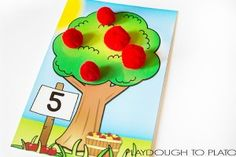 Free Apple Tree Counting Mats