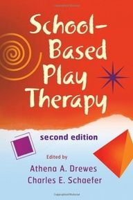School-Based Play Therapy.  A-to-Z guide for using play therapy in preschool and elementary school settings. | #books #counseling #children