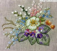 Getting to Know Brazilian Embroidery - Embroidery Patterns Brazilian Embroidery Stitches, Embroidery Flowers Pattern, Hand Embroidery Stitches, Silk Ribbon Embroidery, Crewel Embroidery, Hand Embroidery Designs, Embroidery Techniques, Cross Stitch Embroidery, Machine Embroidery