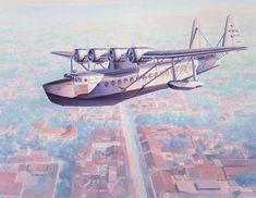 SIKORSKY S42B PASSENGER FLYING BOAT