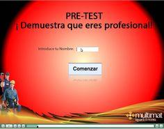 Plataforma de formación profesional  E-LEARNING Multimat