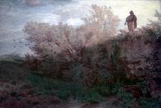 The Bagpiper, 1861 - Arnold Böcklin - WikiArt.org - encyclopedia ...