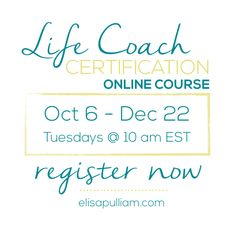 Isn't it the perfect time for you to become a life coach? Learn more about #lifecoching and how to start your training today.