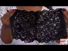 Como hacer un cachetero en encaje - Hogar Tv por Juan Gonzalo Angel - YouTube