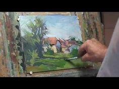 Christian Arnould - Oil Painting 02 - YouTube