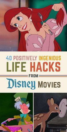 40 Life Hacks From Disney Movies That Are Borderline Genius