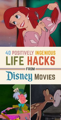 40 Life Hacks From Disney Movies That Are Borderline Genius