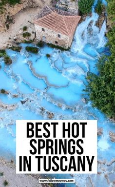 4 free and natural hot springs in Tuscany - # hot . - 4 free and natural hot springs in Tuscany – is # natural - Cool Places To Visit, Places To Travel, Travel Destinations, Places To Go, Travel Things, Italy Travel Tips, Travel Guide, Travel Info, Travel Hacks