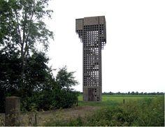 Luchtwachttoren Eede, Zeeland, the Netherlands