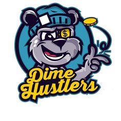 Dime Hustlers Bear Tee on Behance